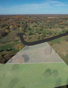 Custom lot for luxury homes in Orono MN
