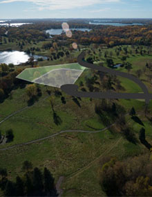 Luxury residential lots in Orono MN